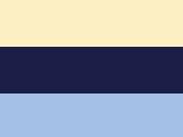 Off White/Navy/Sky Blue